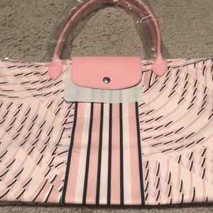 NEW Pink Patterned Longchamp
